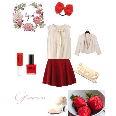 red×white