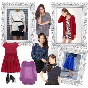 夏×ウェーブの2014年秋ファッション